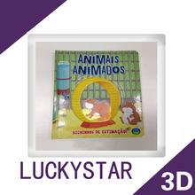 3d lenticular postcard book printing