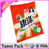 yason plastic pp/pe/opp material and accept custom order shopping plastic bags dog carry bag/ plastic bags with cotton string