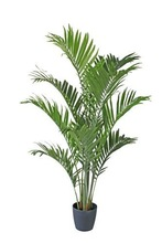 Yzp000042 artificial Areca palm tree potted plants artificial Chrysalidocarpus lutescens bonsai synthetic indoor coconut tree