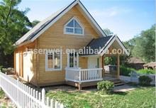 two-storey large tilt wooden house, prefabricated homes, mobile villa