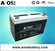 12V 100Ah VRLA Deep Cycle AGM Battery Solar charger for car Battery