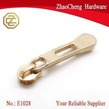 Popular Fashionable Gold Zipper slider