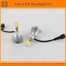 Hot Sale Competitive Price Car H3 LED Headlight Bulbs High Lumen Waterproof 12V H3 LED Headlight