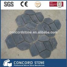 black slate crazy paving stone