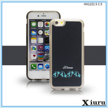 2015 new arrival back cover leather case for galaxy s4 mini