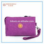 2014 Fashion Wallet Ladies Pure colour Purses And Handbags
