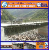 Frame muti-trusses, compact panel,small steel bridges
