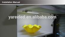 Very hot sell IR sensor aluminum DC 12V LED under cabinet bars for intelligent household