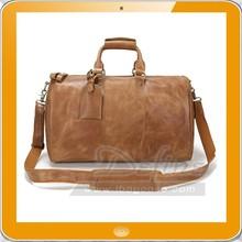 Men's Travel Large Capacity Leather foldable travel duffle bag
