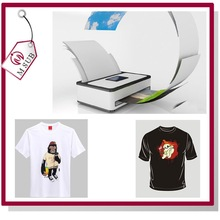 Dark and Light Cotton T-shirt A4 Size Paper for Inkjet and laser Printer