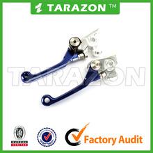 China motocycles 6061 alloy aluminum brake clutch lever for YAMAHA YZ250