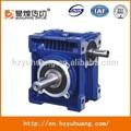 Boîte de vitesses à angle droit nmrv40- 20- 63b5 ratio 20 ver boîte de vitesses avec moteur