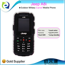 Jeep A8i dual sim cards long standby time best waterproof shockproof and dustproof cell phone