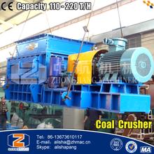 110 - 220 T/H Strip Mine Coal Crusher for Sale in USA