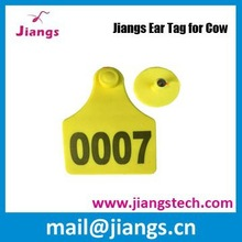 Plastic animal ear tag for cow and livestock animal ear tag