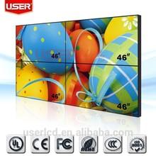high lumen 46 inch lcd video wall 2000nit