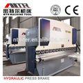 Prensa cnc máquina de metal bender folha, Wc67y Seris WC67Y