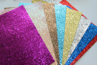High Quality Fashion Popular Purple Glitter Leather Fabric For Bags