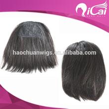 clip natural hair bangs, black hair bangs,100 human hair bangs