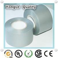 """UV resistant 2"""" x 100' 10 Mil UPC certified gray Pipe Wrap Tape"""