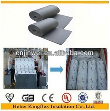 Foam rubber Thick 0.28 inch auto interior insulation roll 21.53sq.ft. sound deadening foam for car