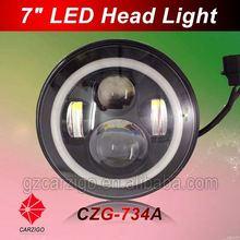 12v 24v High luminous DC 9volt for off road 7 inch round LED
