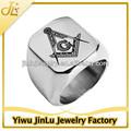 moda 2014 açoinoxidável maçônica anéis