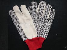 PVC dotted cotton gloves /Guantes de algodon con puntos, guantes de trabajo 0295
