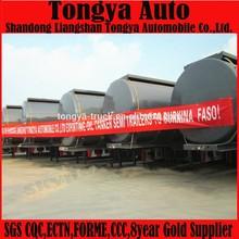 Fuel Tanker Semi-trailer Dimensions