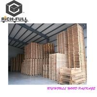 Pine wood warehouse racking wood pallet+price