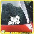 Cs001225, arrière de voiture autocollants pour fenêtres