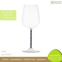 Handmade Cheap Custom Beautifully Pyrex Glass Goblets Wholesale