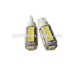 led T10 wedge 168 194 W5W smd auto light 13pcs 5050 12v automotive led lights