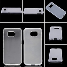Good quality soft TPU case back cover for Samsung S6 gel case