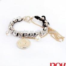 Tortoise cross style bracelet wrap