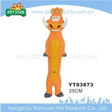 Creative popular design top quality latex chicken dog toy