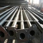 Q345 steel LED street outdoor light post price of steel pole manufacturer 6m,7m,8m,9m,10m,11m,12m,13m height