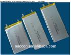 3.7v 680MAH Lithium Polymer Battery,Li-polymer battery pack