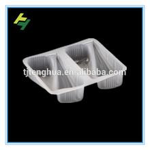 Disposable plastic bread tray