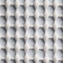 easy care pvc foam Polyester knit fabric vinyl coating furniture non-slip pad