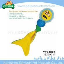 Good peputation factory price pet toy vinyl toy pet dog ball
