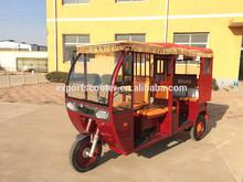 three wheel taxi tuk tuk passenger / electric car for Thailand