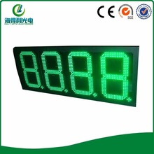 hidly 12inch green IP65 price display board (GAS12ZG8888TB)
