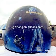 2015 new inflatable dome cinema/360 dgree cinema 3D movies