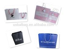 Different shape paper bag, creative paper bag, folded shopping paper bag