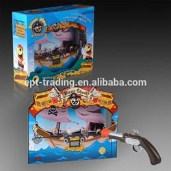 Pirates shoot game toy laser toy gun target