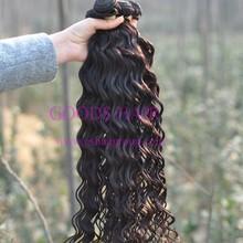 Virgin malaysian deep wave hair natural malaysian hair pieces