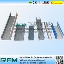 Venda Hot top qualidade de máquinas cnc canal telescópica rolo dá forma à máquina
