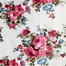 reactive printing stretch twill 97 cotton 3 spandex fabric