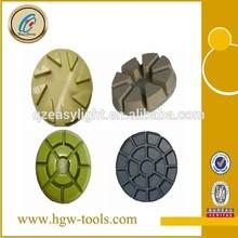 Factory direct resin bond dry concrete polishing pads